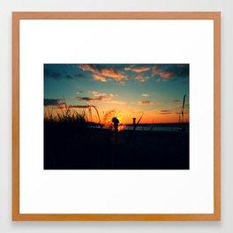 Malahide Beach CP1 Framed Art Print
