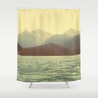 diablo Shower Curtains featuring You are a ghost to me - Diablo Lake by jordanwlee.com