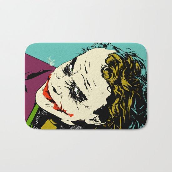 Joker So Serious Bath Mat