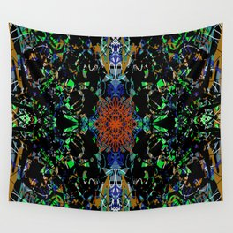 Skeletal Blossom Wall Tapestry