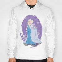 elsa Hoodies featuring Elsa by LarissaKathryn
