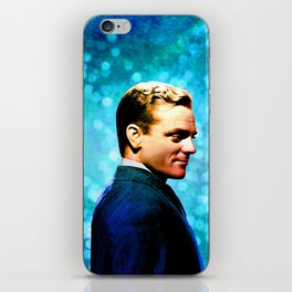 James Cagney, blue screen iPhone Skin