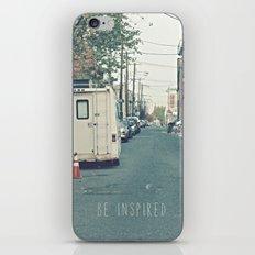 Be Inspired.  iPhone & iPod Skin