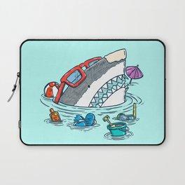 Beach Party Shark Laptop Sleeve
