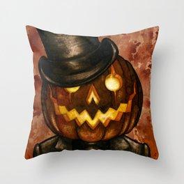 Dapper Jack Throw Pillow
