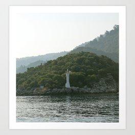 Lighthouse of Solitude Art Print