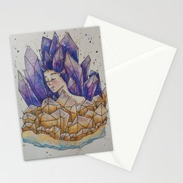 Amethyst Goddess Stationery Cards