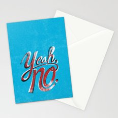 Yeah, No. Stationery Cards