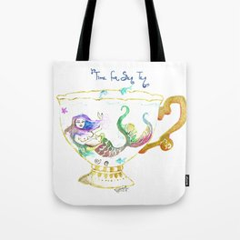 Sea Tea Tote Bag