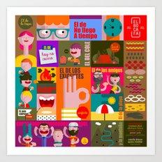 pancito Art Print