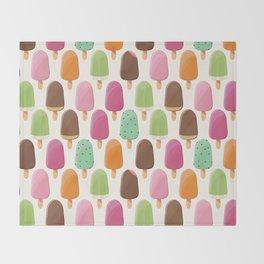 Ice cream 012 Throw Blanket