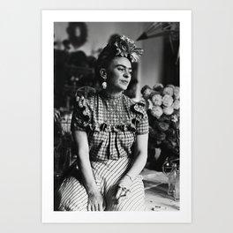 Frida Kahlo Portrait Poster Canvas Wall Art Home Decor, No Frame Art Print