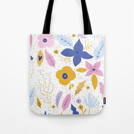 Sunday Florals Tote Bag