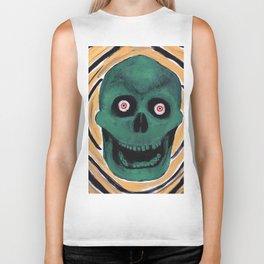 Happy Skull Biker Tank