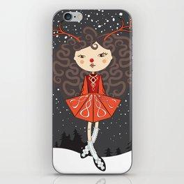 'Rudolf the Reel Deer' Lil Dancer iPhone Skin