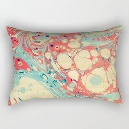 Abstract Painting ; Coast Rectangular Pillow