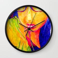 Hailey Seals Wall Clock