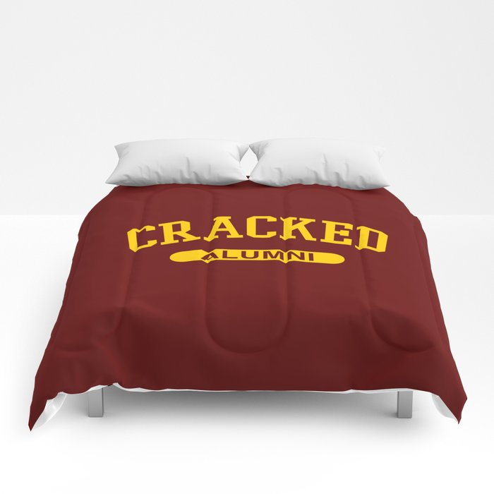 Cracked Alumni Comforters