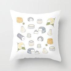 Goat Cheese Throw Pillow