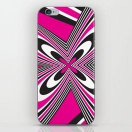 Funky Pink iPhone Skin