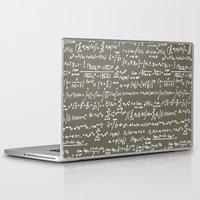 math Laptop & iPad Skins featuring Math by beach please