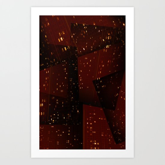 Cities and Desire Art Print