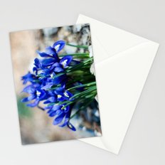 Iris Watercolor Stationery Cards