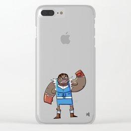 Street Fighter's M. Bison (JPN)/B@lrog (USA) Clear iPhone Case