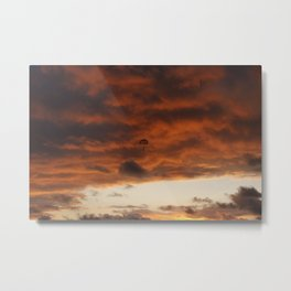 Manuel Antonio Sunset Clouds, Costa Rica Metal Print