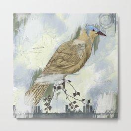 Bird City Metal Print