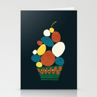 dessert Stationery Cards featuring Dessert by Picomodi