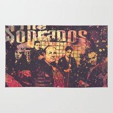 The Sopranos (in memory of James Gandolfini) Rug