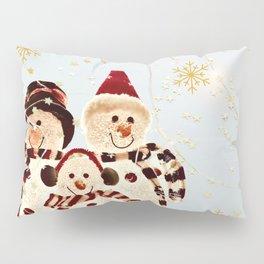 Christmas Snowmen for Kids Pillow Sham