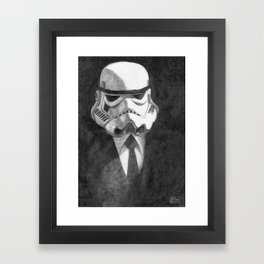 Stormtrooper Framed Art Print