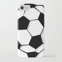 soccer iPhone & iPod Cases featuring Soccer by An Luong