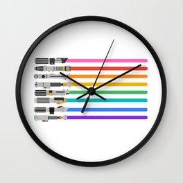 Pride sabers Wall Clock