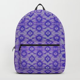 blue tie dye in small repeat Backpack