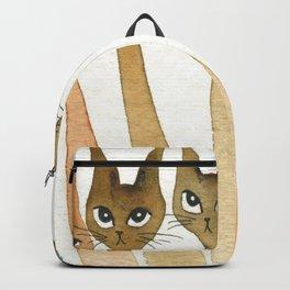 Roanoke Whimsical Cats Backpack