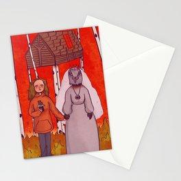 Charlie with grandma Stationery Cards