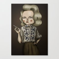 Betty Draper (Mad men) Canvas Print