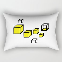 Angular Eyes Rectangular Pillow