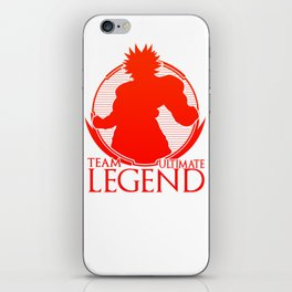 Team Ultimate Legend iPhone Skin