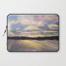 Summer Sunset Over Lake Winnipesaukee in New Hampshire Laptop Sleeve