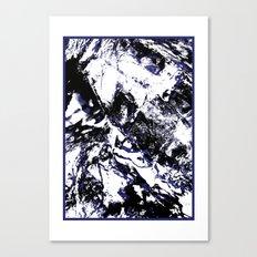 MTHSN_BLUE ID Canvas Print