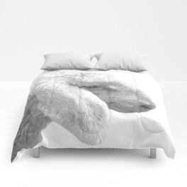 Black and White Sheep Comforters