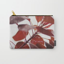 Red leaves in a London Fog by Diana Eastman Carry-All Pouch