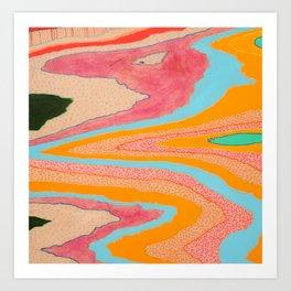 landslide Art Print
