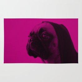 Pink Pug Rug