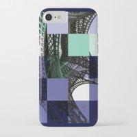 eiffel iPhone & iPod Cases featuring EIFFEL by Marcela Solana