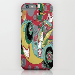 get in the car, we're goin' for a ride! iPhone Case